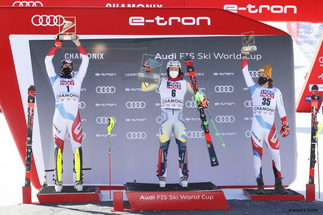 KRISTOFFERSEN WINS ON SUNDAY